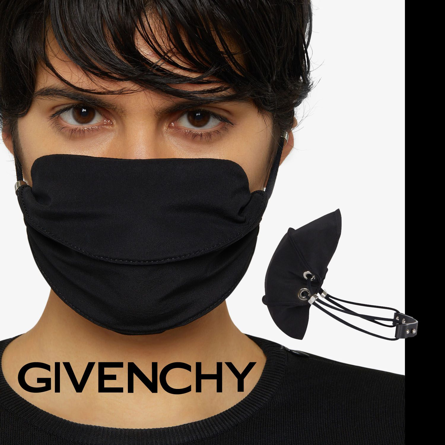 Givenchy Protective Face Mask 2021 by RUNWAY MAGAZINE