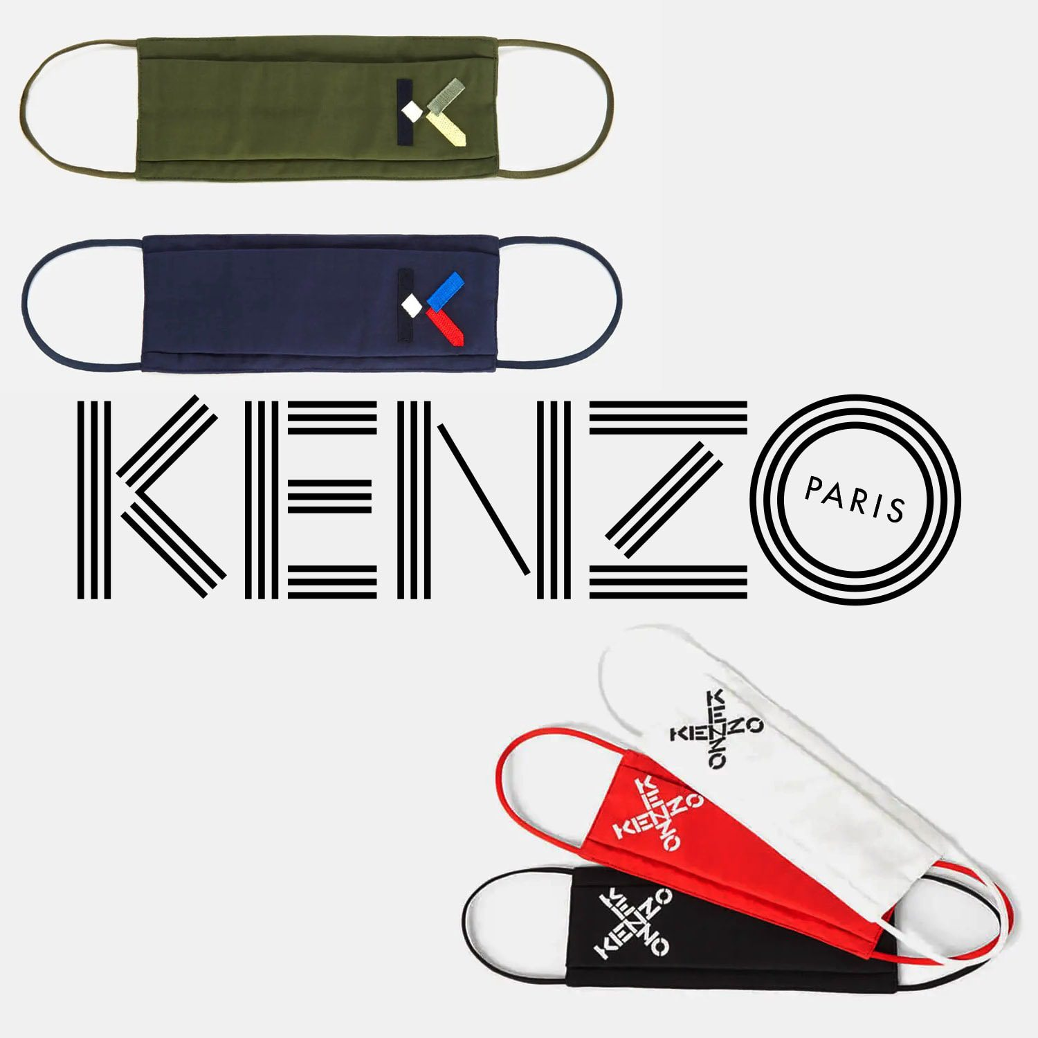 Kenzo Protective Face Mask 2021 by RUNWAY MAGAZINE