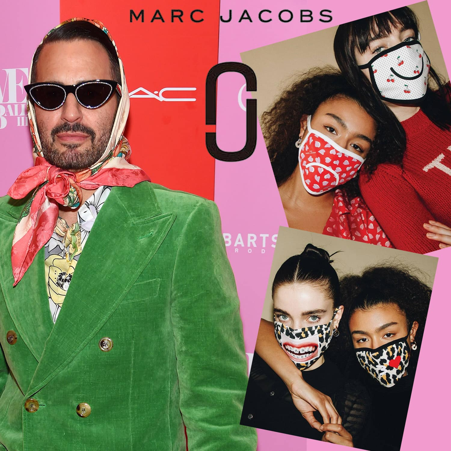 Marc Jacobs Protective Face Mask 2021 by RUNWAY MAGAZINE
