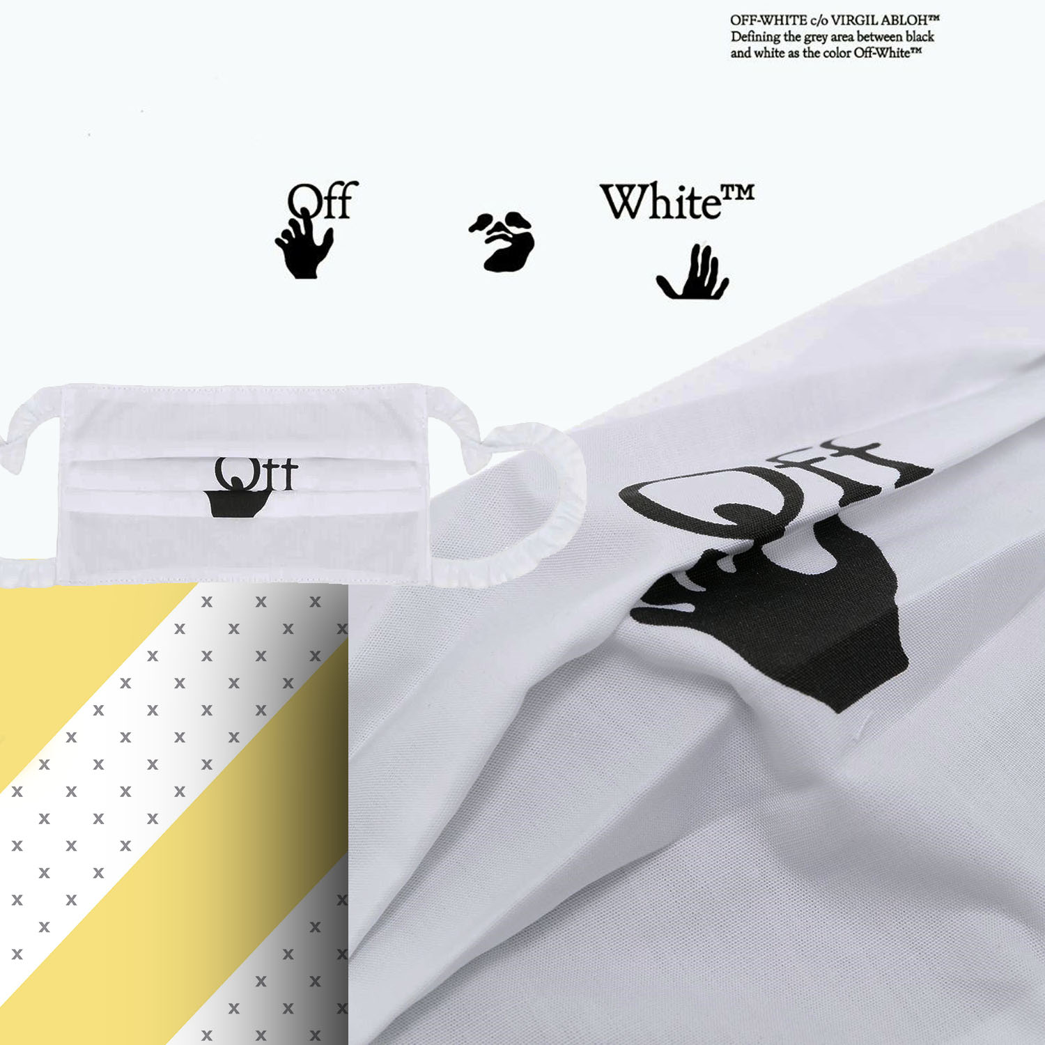 Off-White Protective Face Mask 2021 by RUNWAY MAGAZINE