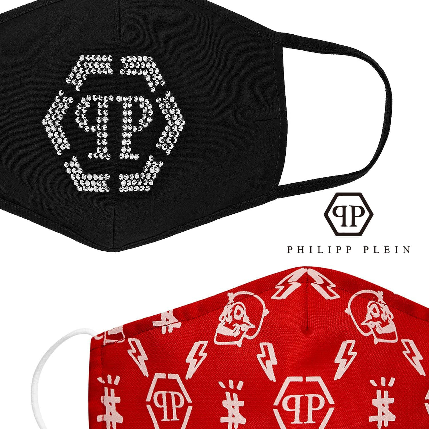 Philipp Plein Protective Face Mask 2021 by RUNWAY MAGAZINE