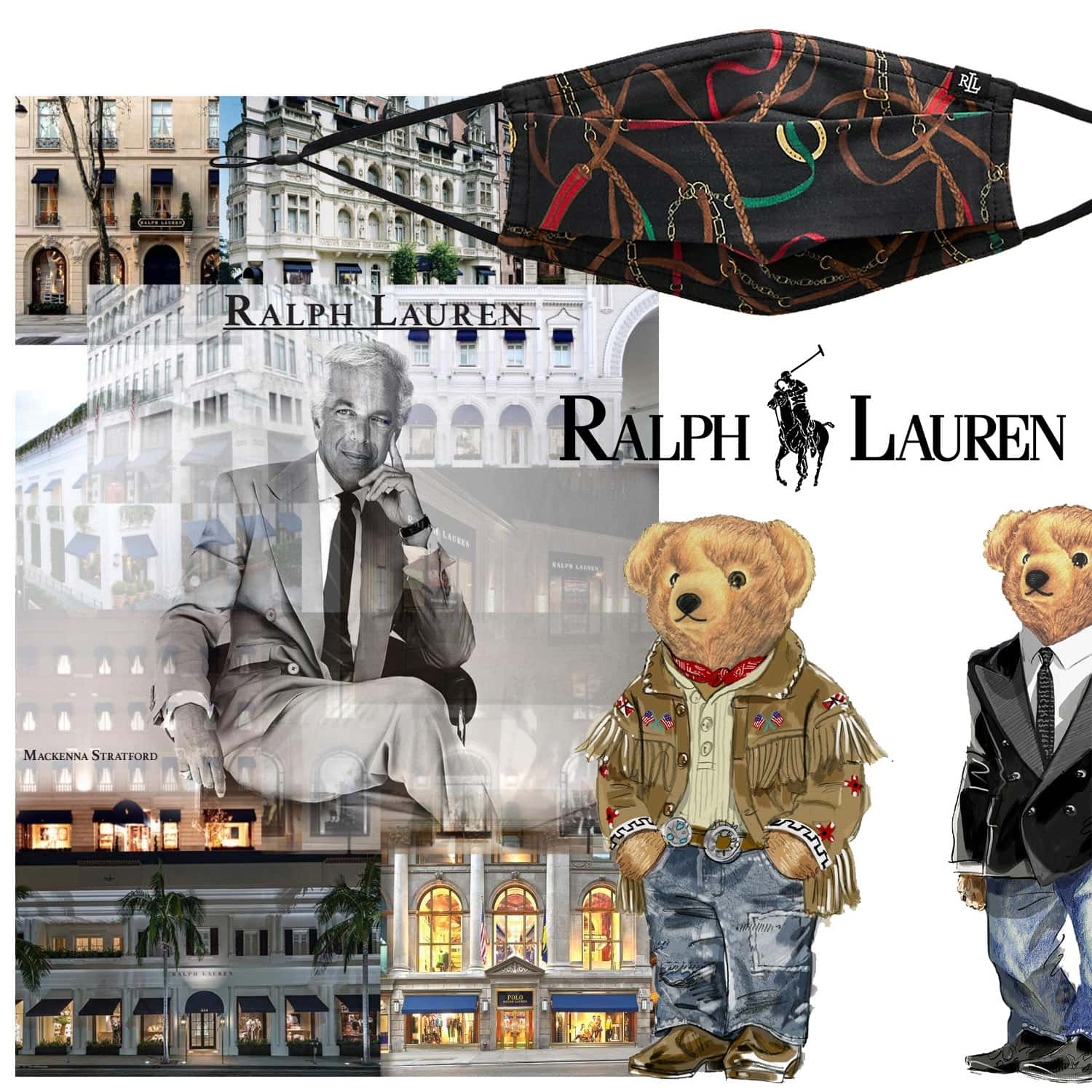 Ralph Lauren Protective Face Mask 2021 by RUNWAY MAGAZINE
