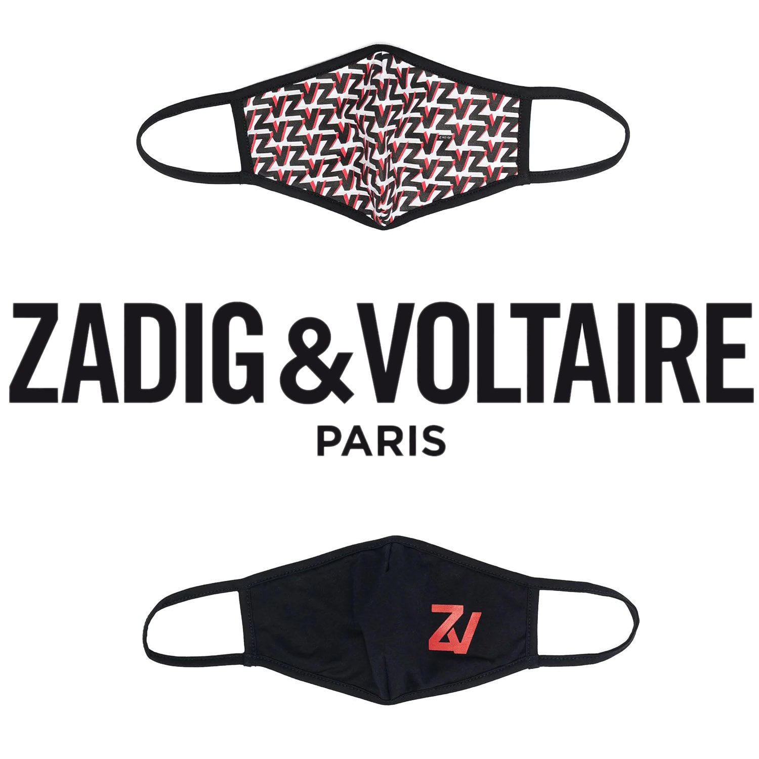 Zadig & Voltaire Protective Face Mask 2021 by RUNWAY MAGAZINE