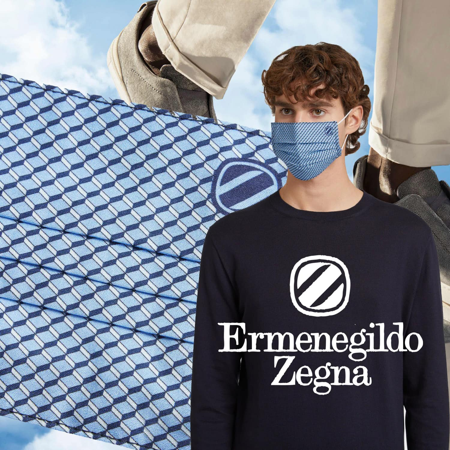 Zegna Protective Face Mask 2021 by RUNWAY MAGAZINE