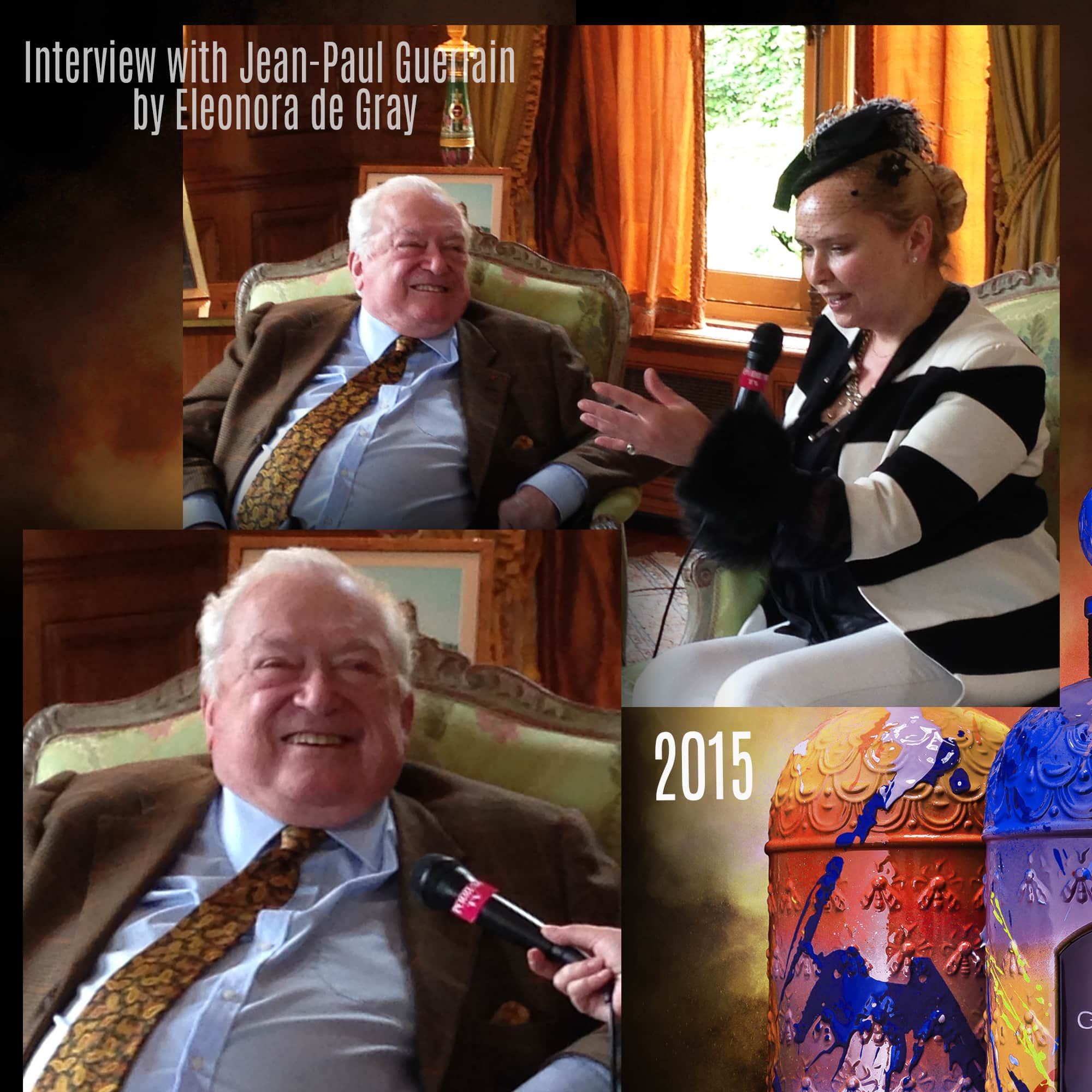 Interview with Jean Paul Guerlain by Eleonora de Gray - 2015 - Tresors INPI by RUNWAY MAGAZINE
