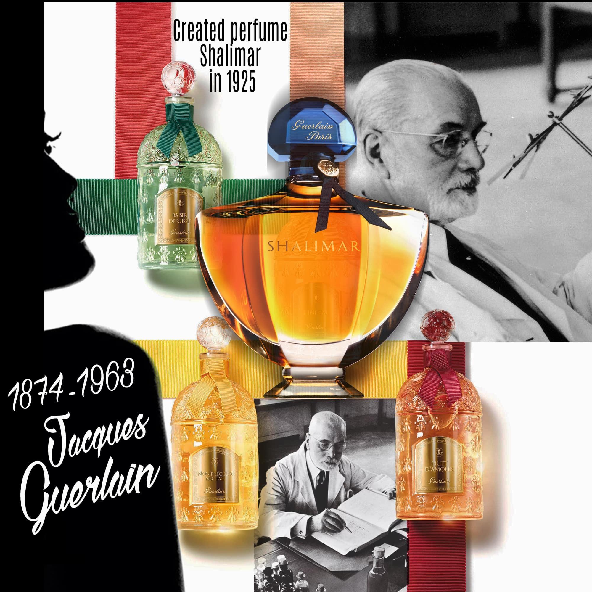 Jacques Guerlain criador do Shalimar - Tresors INPI por RUNWAY MAGAZINE