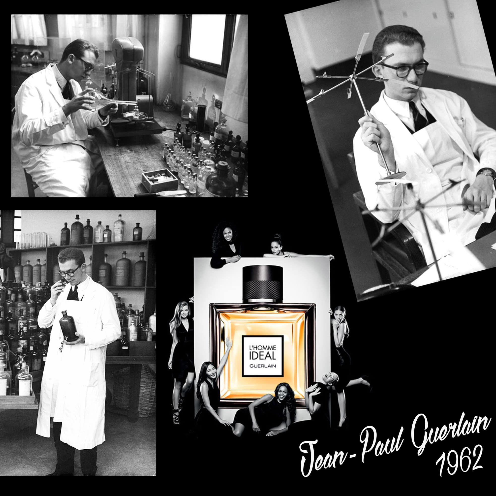 Jean Paul Guerlain - 1962 - Tresors INPI por RUNWAY MAGAZINE