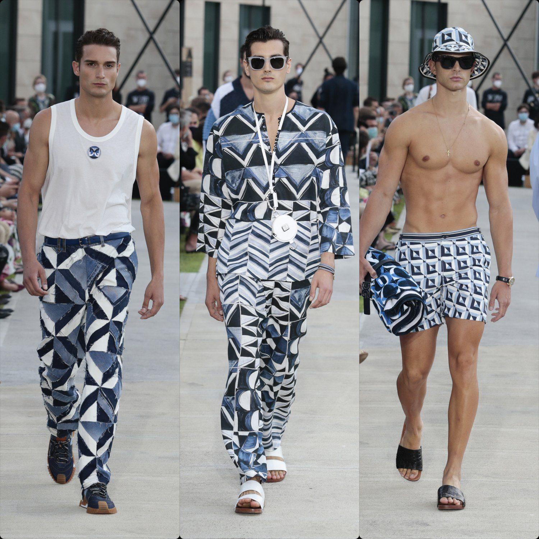 Dolce Gabbana Men Spring Sammer 2021 vs Sargadelos by RUNWAY MAGAZINE