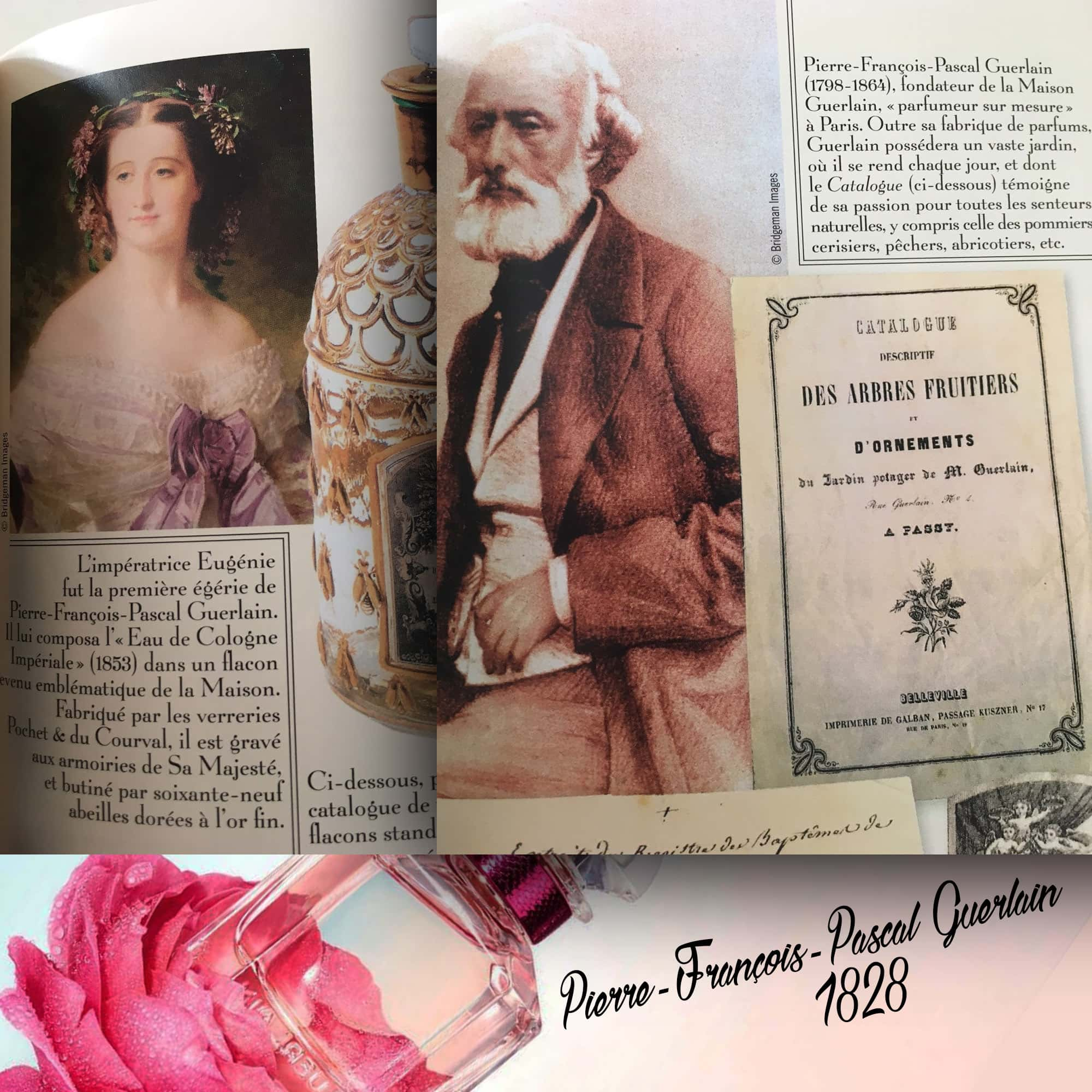 Pierre-François-Pascal Guerlain fundou a casa em 1828 - Tresors INPI por RUNWAY MAGAZINE