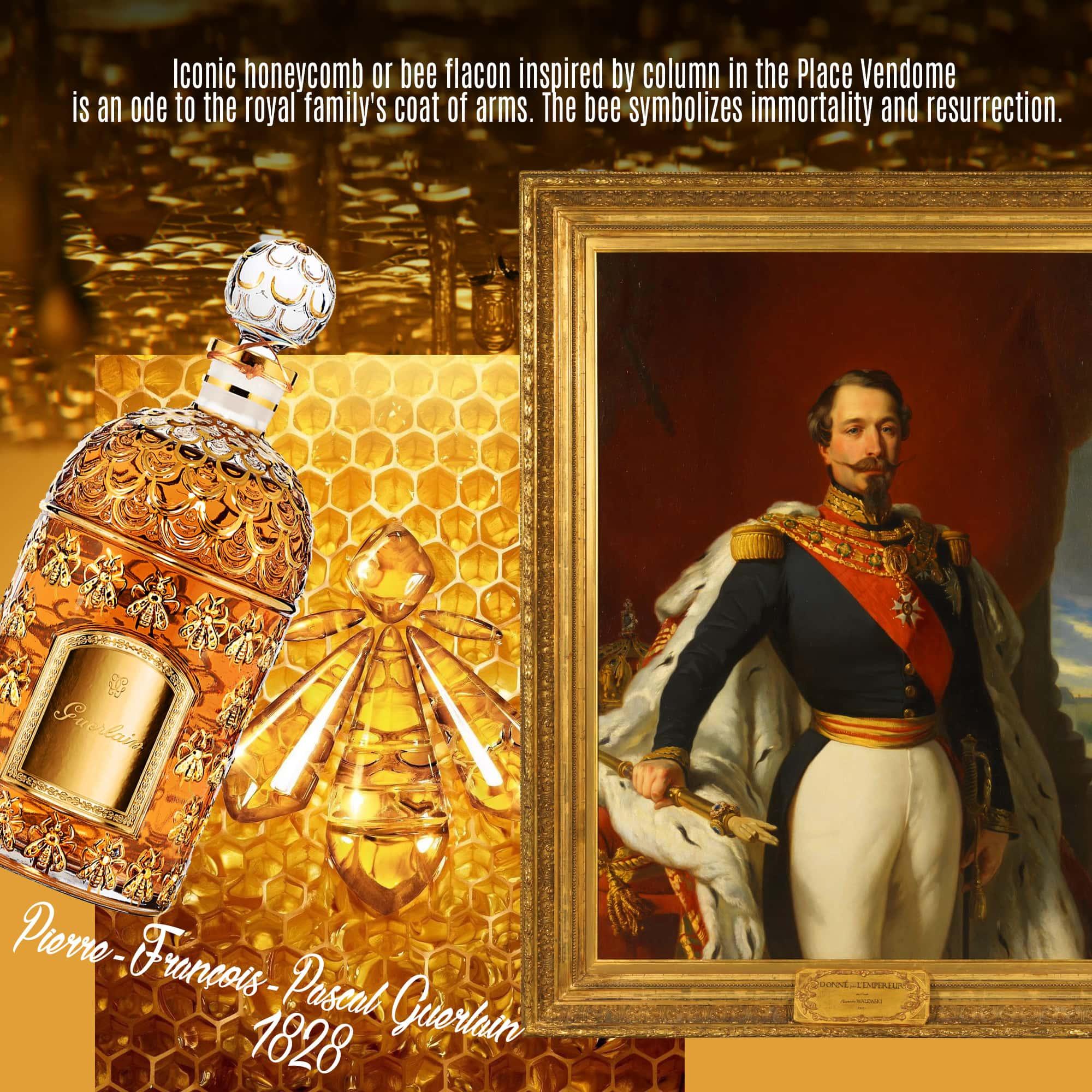 Pierre-François-Pascal Guerlain fundou a casa em 1828 - Frasco de abelha icônico - Tresors INPI por RUNWAY MAGAZINE