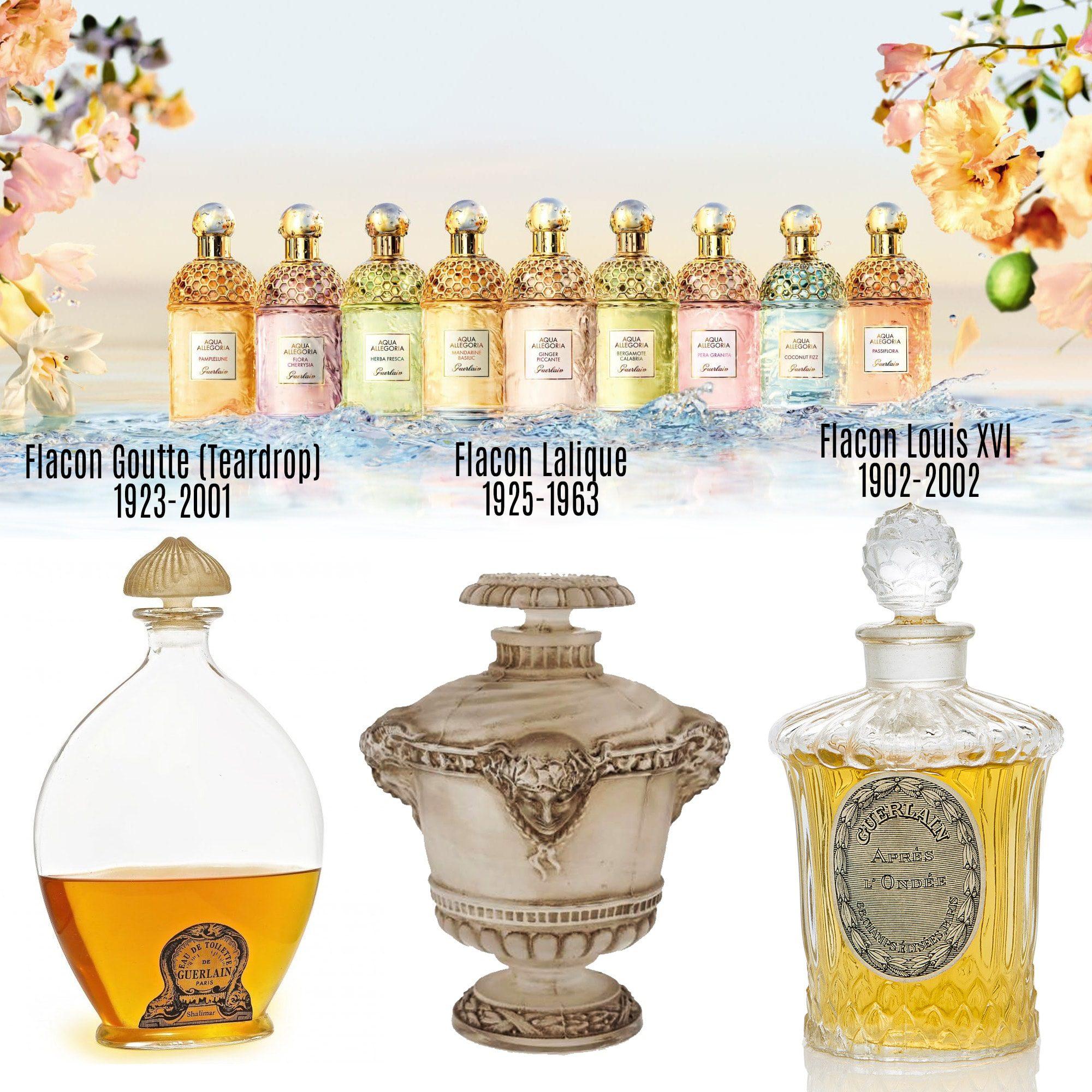 Flacon Goutte (Teardrop), Flacon Lalique, Flacon Louis XVI - Tresors INPI por RUNWAY MAGAZINE