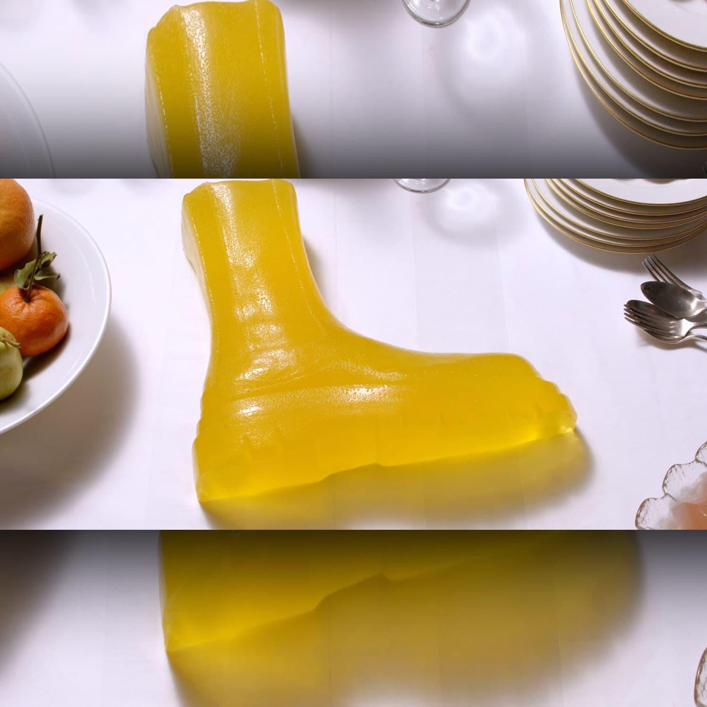 Bottega Vineta Issue 1 - Jello shoes