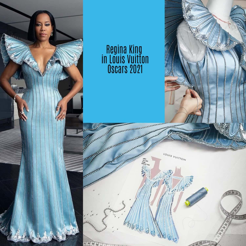 Regina King in Louis Vuitton per gli Oscar 2021 di RUNWAY MAGAZINE