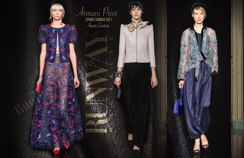 Armani Prive HAUTE COUTURE Primavera Verano 2021 de RUNWAY REVISTA