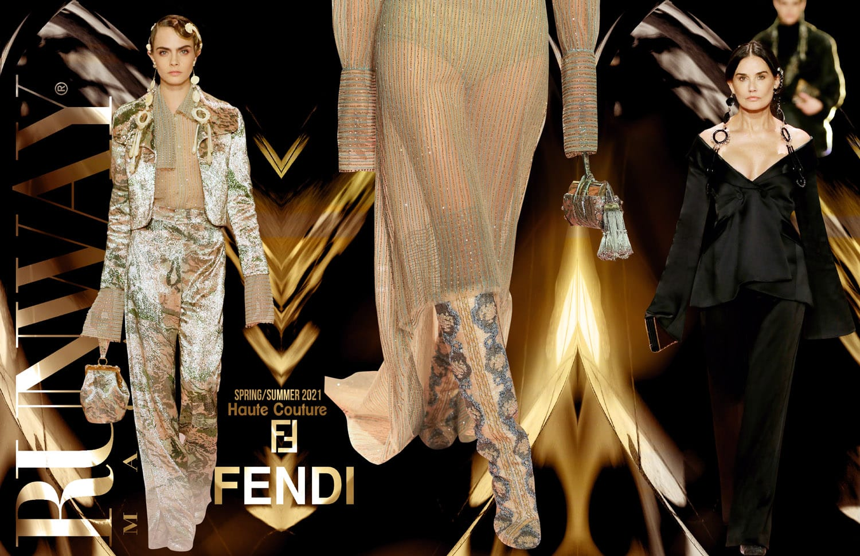 Fendi Haute Couture Primavera Verano 2021 de RUNWAY REVISTA