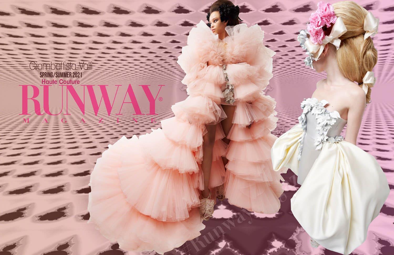 Giambattista Valli Haute Couture Primavera Verano 2021 de RUNWAY REVISTA