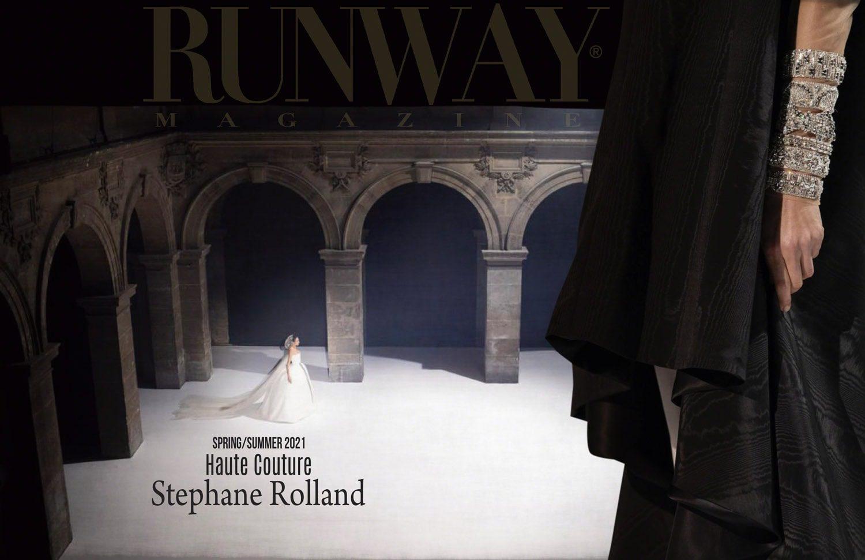 Stephane Rolland Haute Couture Primavera Verano 2021 de RUNWAY REVISTA