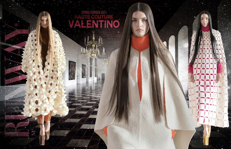 Valentino Haute Couture Primavera Verano 2021 de RUNWAY REVISTA