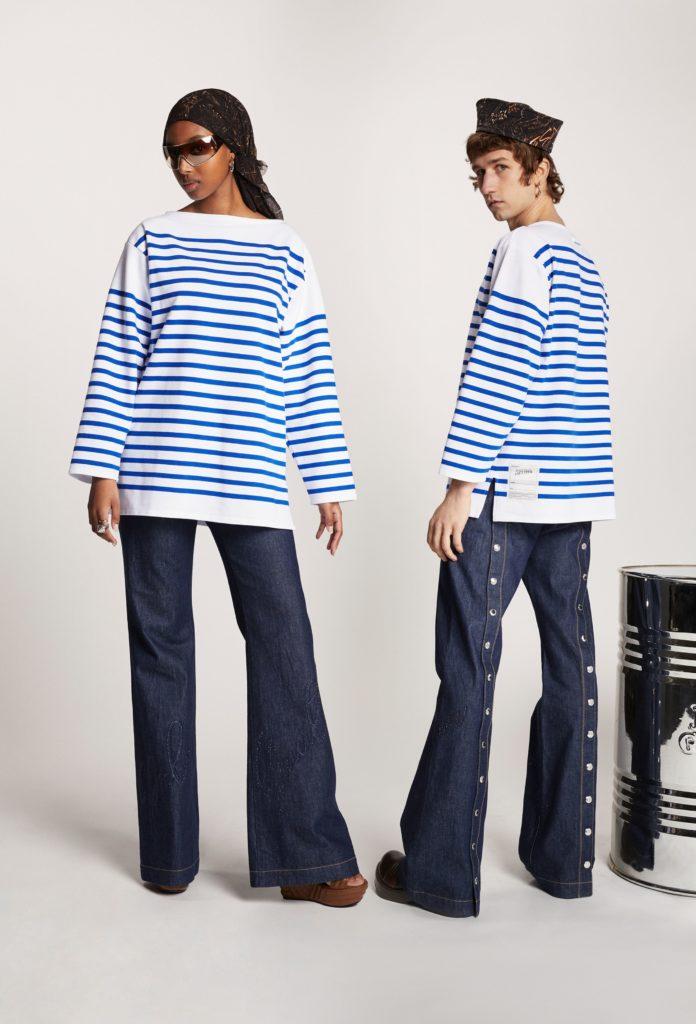 Одежда Жан-Поля Готье, прет-а-порте 2021 - Les Marins, автор: RUNWAY ЖУРНАЛ