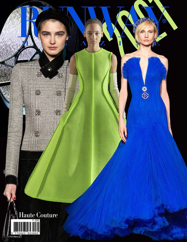 RUNWAY 2021 Magazine issue - Autunno Inverno 2021-2022 Haute Couture Milano