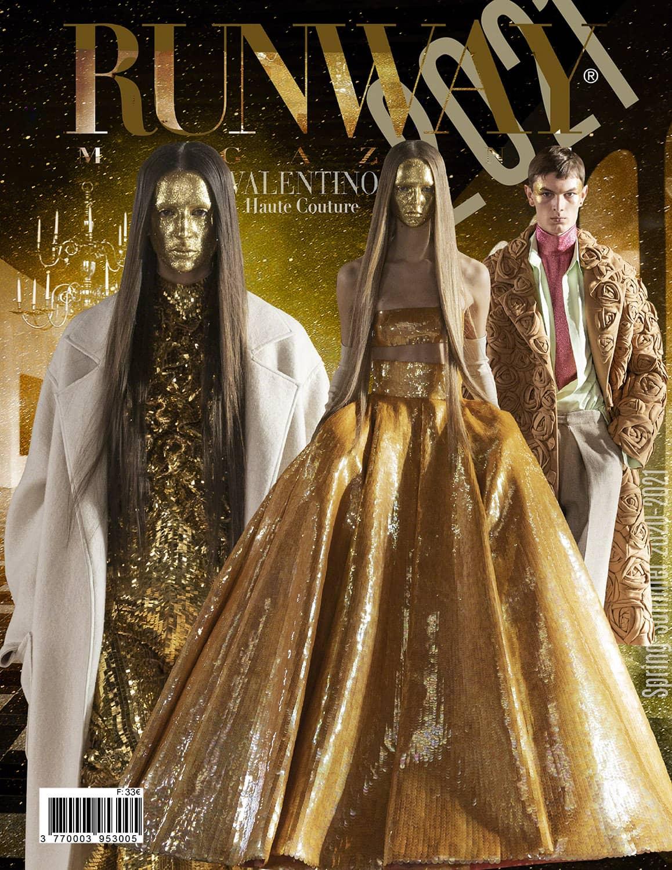 RUNWAY 2021 Magazine issue - Primavera Estate 2021 Haute Couture Milano