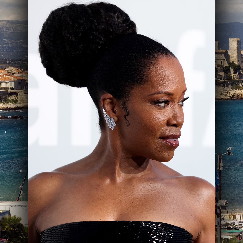 Cannes 2021 amfAR gala Regina King por RUNWAY MAGAZINE