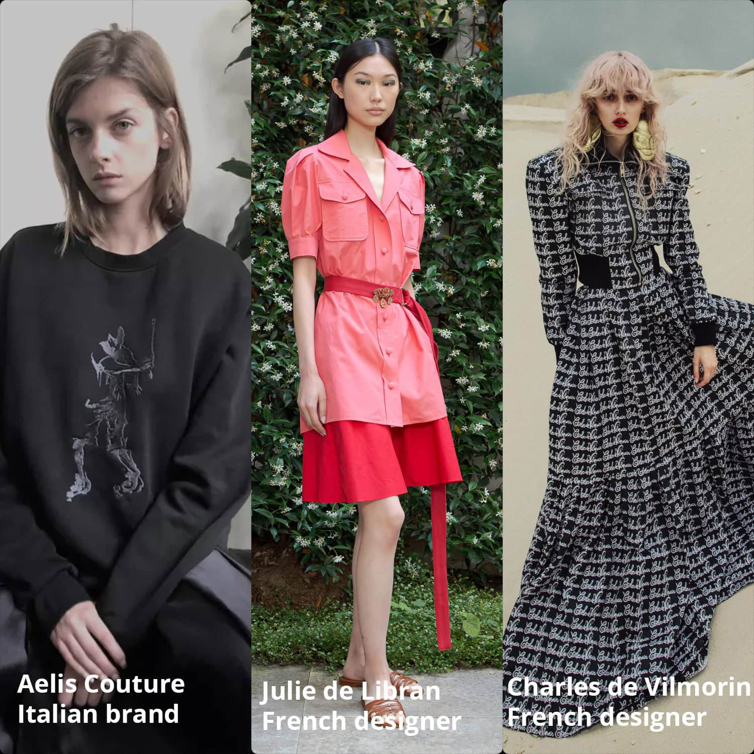 Haute Couture Fall Winter 2021-2022 Charles de Vilmorin (French), Aelis Couture (Italian), Julie de Libran (French) by RUNWAY MAGAZINE