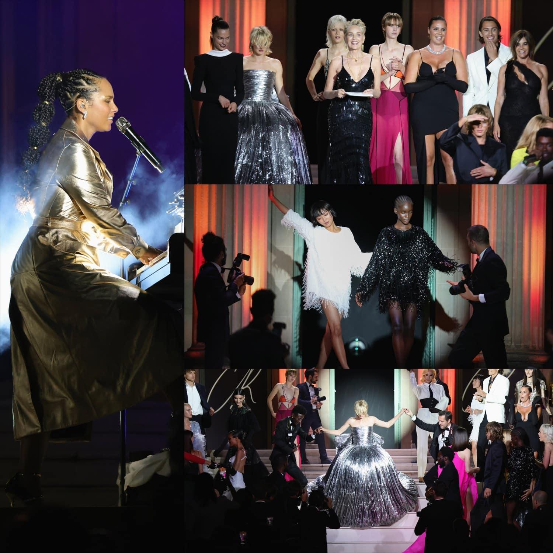 Cannes 2021 amfAR Gala Cantora Alicia Keys por RUNWAY MAGAZINE