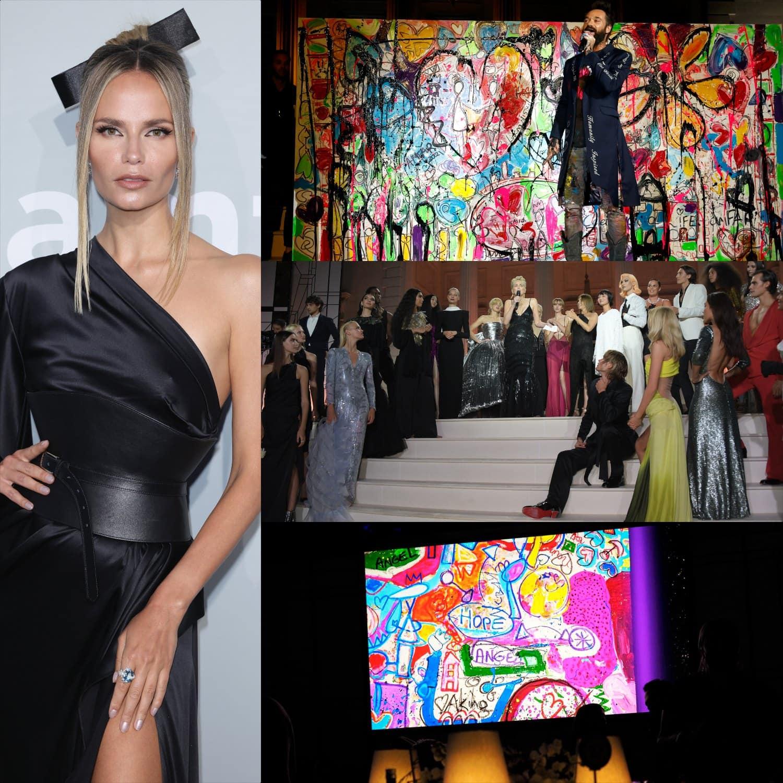 Cannes 2021 amfAR gala Natasha Poly por RUNWAY MAGAZINE
