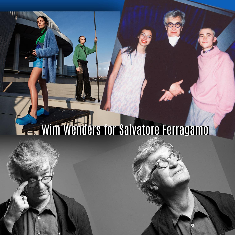 Wim Wenders para Salvatore Ferragamo Outono 2021 por RUNWAY MAGAZINE