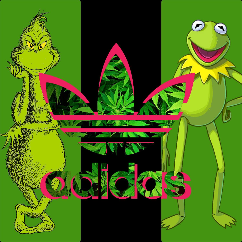 Adidas Not Easy Being Green - Caco e Grinch por RUNWAY MAGAZINE