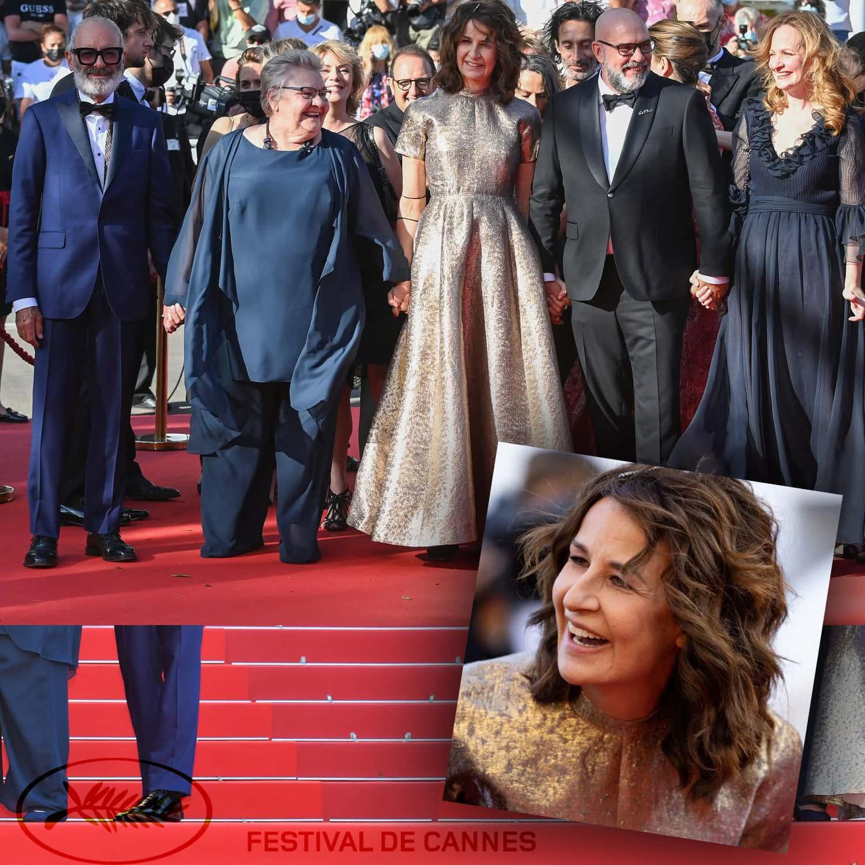 戛纳 2021 - Roc Lafortune、Danielle Fichaud、Valerie Lemercier、Sylvain Marcel、Pascale Desrocher - Photo GettyImage - 作者 RUNWAY 杂志