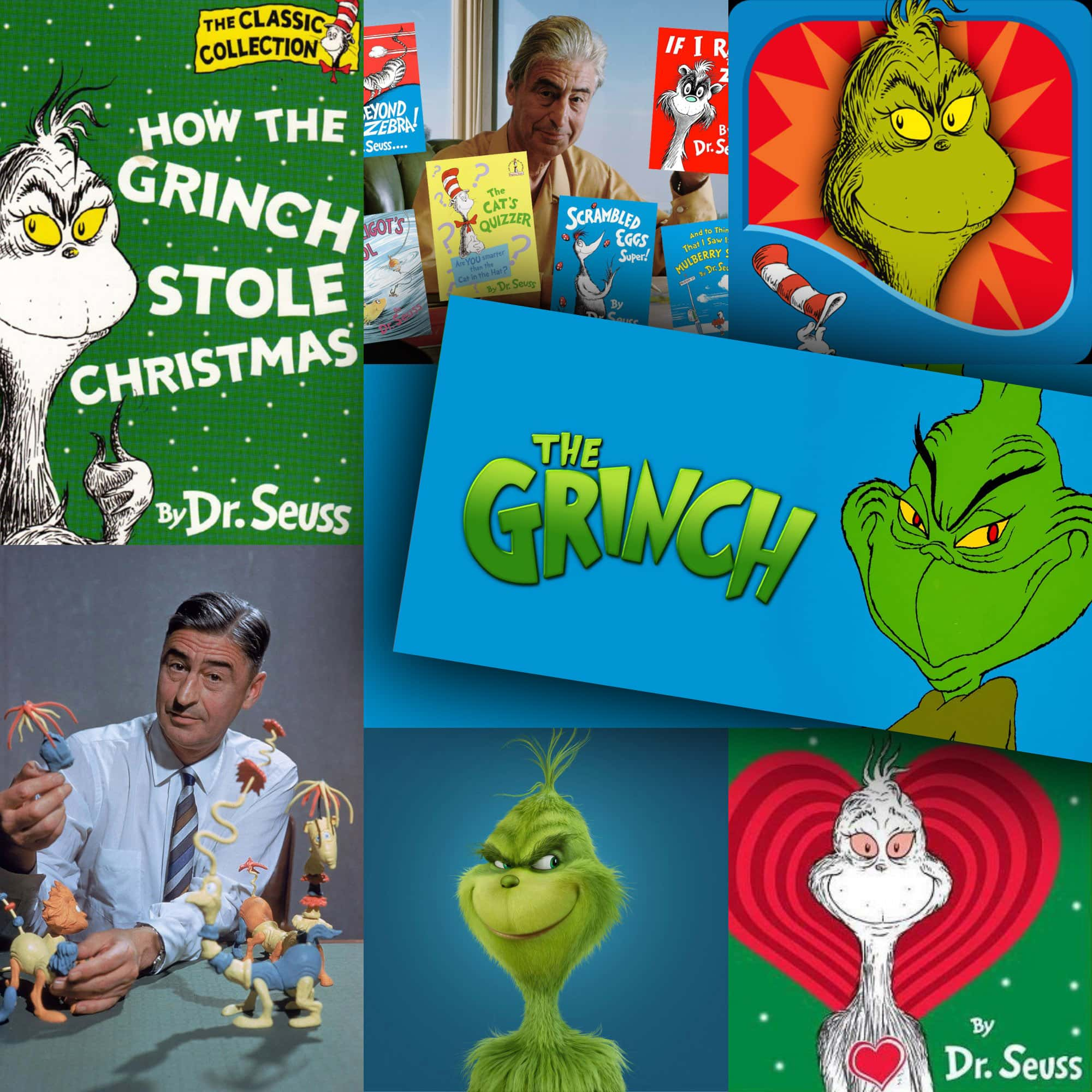 Dr. Seuss Como o Grinch roubou o Natal! livro famoso de RUNWAY MAGAZINE