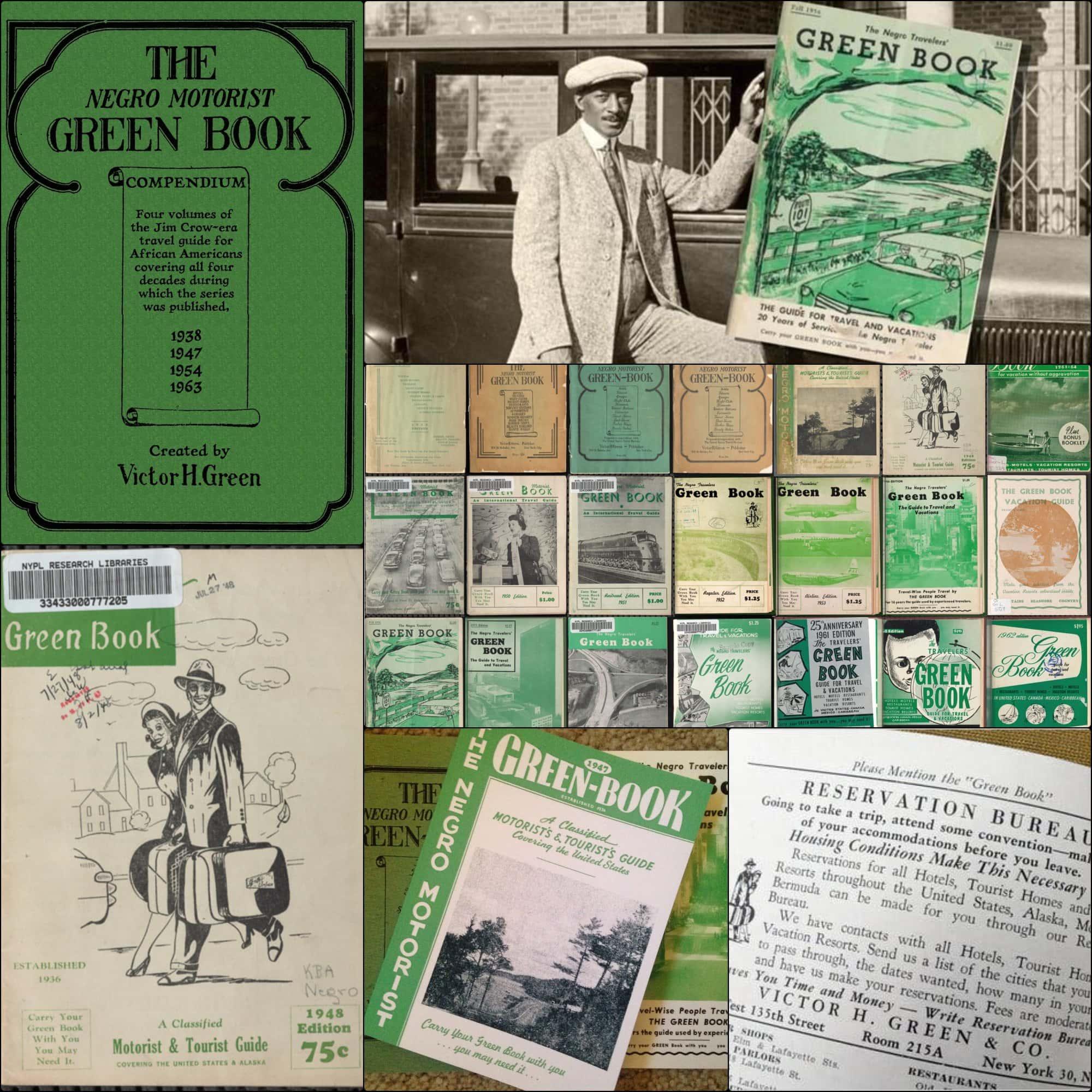 Livro Verde - guia de viagens para afro-americanos por Victor Hugo Green 1936-1966