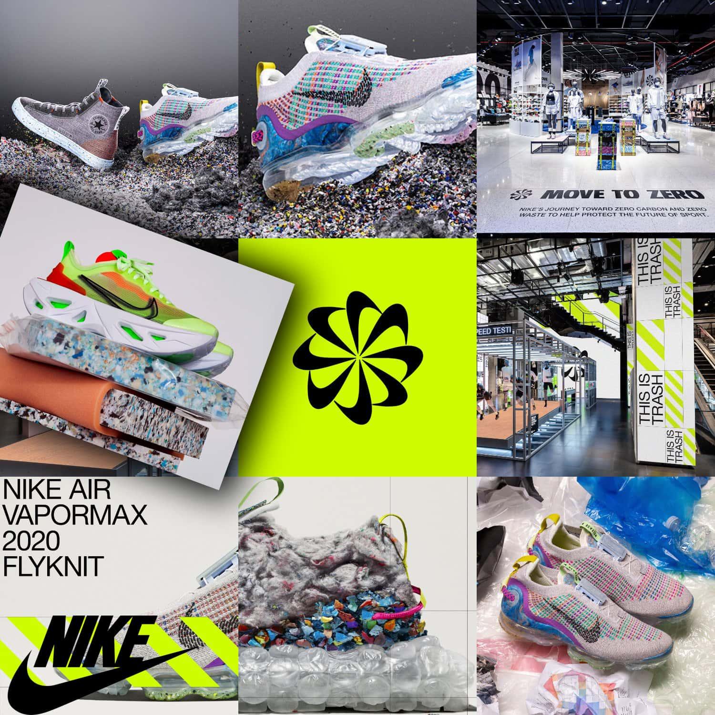 Conceito ecológico Nike Move to Zero por RUNWAY MAGAZINE