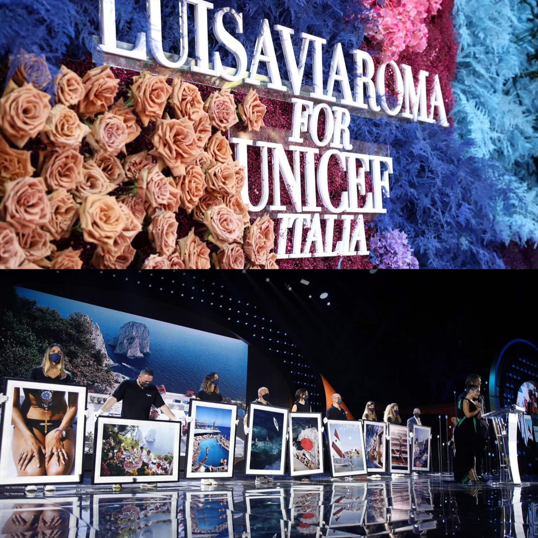 LuisaViaRoma для Unicef, Капри, 31 июля 2021 г., автор: RUNWAY ЖУРНАЛ