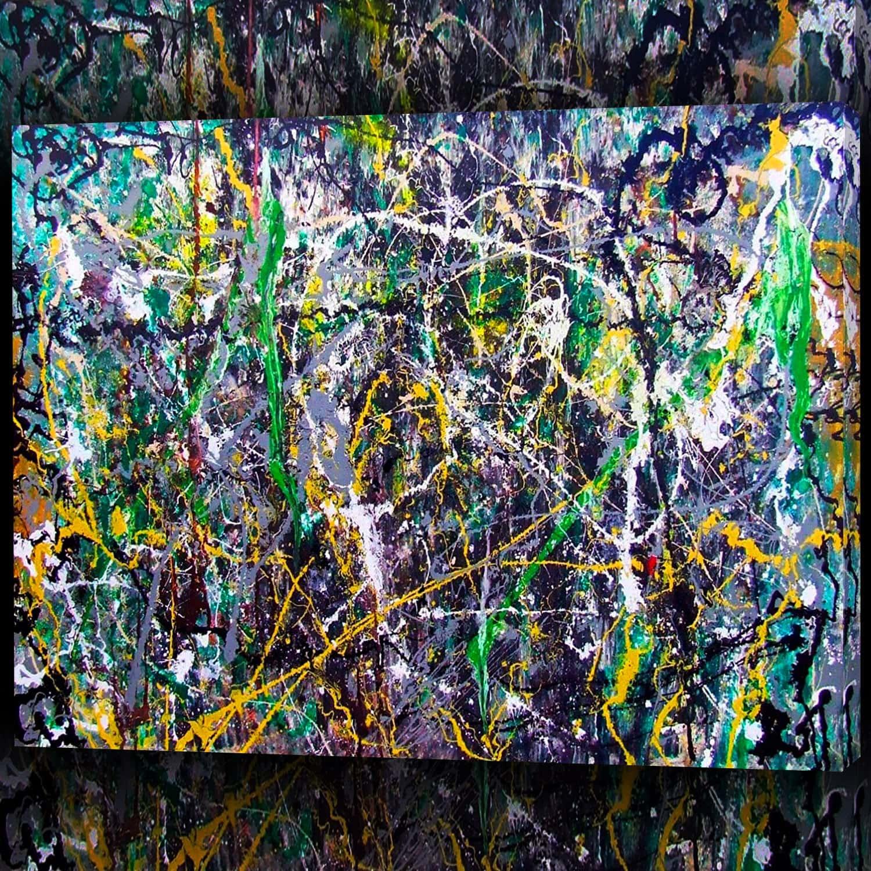 Dipinto di Jackson Pollock