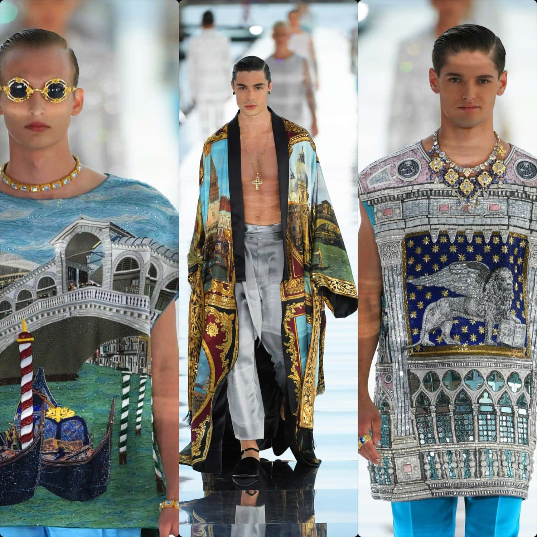 Dolce Gabbana Alta Sartoria Venezia 2021 RUNWAY MAGAZINE