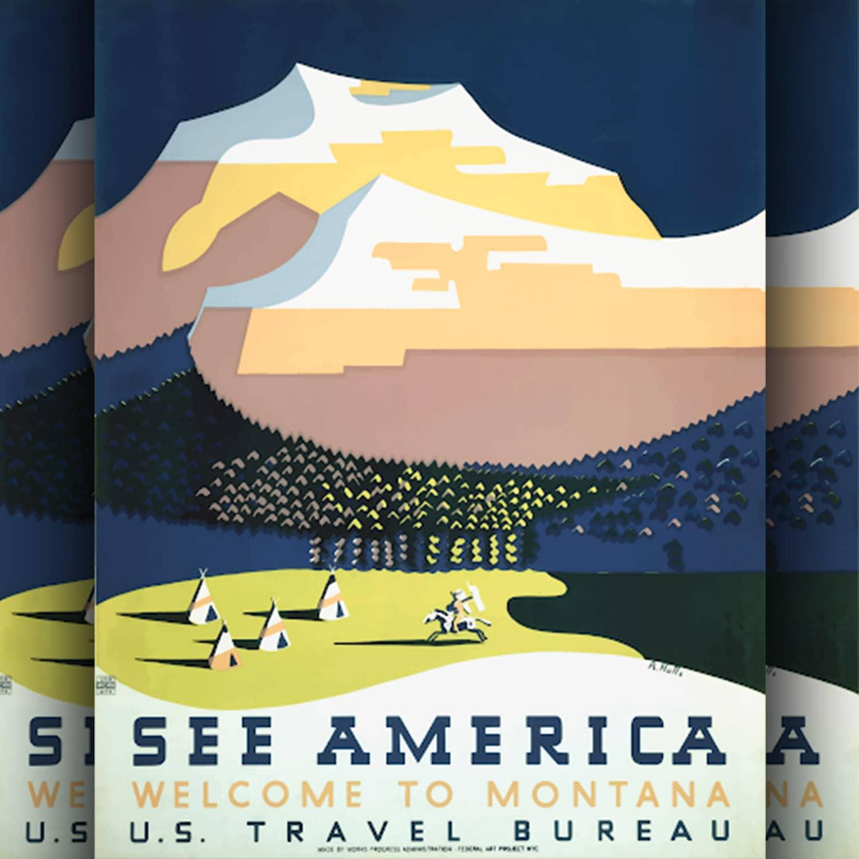 See America - Poster di Richard Halfs