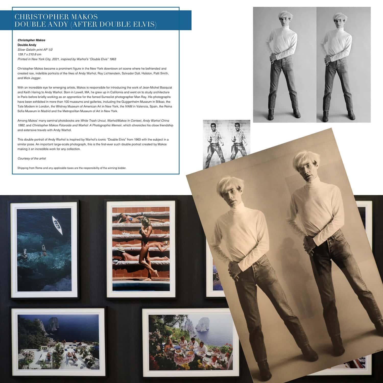 Кристофер Макос - Двойной Энди на аукционе Unicef, Капри, 31 июля 2021 г., автор: RUNWAY ЖУРНАЛ