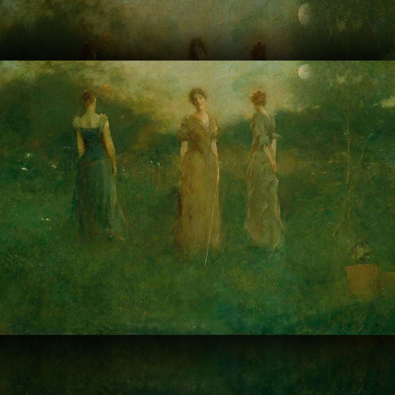 Thomas Wilmer Dewing 1851 – 1938 - In the Garden
