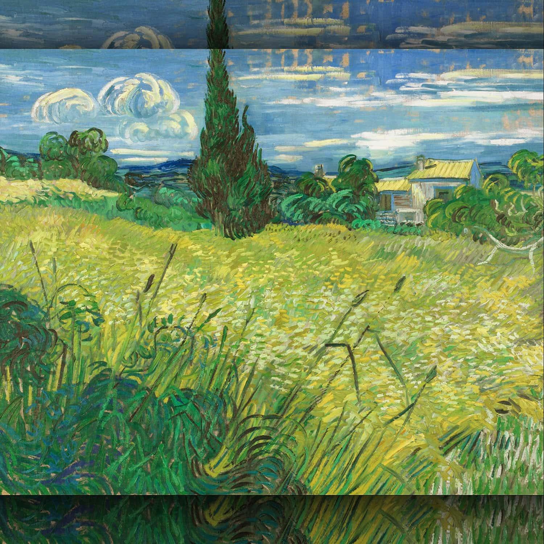 Vincent van Gogh - Campo verde