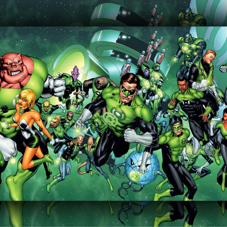 Lanterna verde - Supereroi VERDI by RUNWAY MAGAZINE