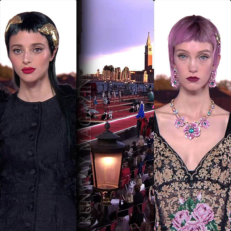 Dolce Gabbana Alta Moda Venezia 2021 per la stagione Autunno-Inverno 2021-2022 di RUNWAY MAGAZINE