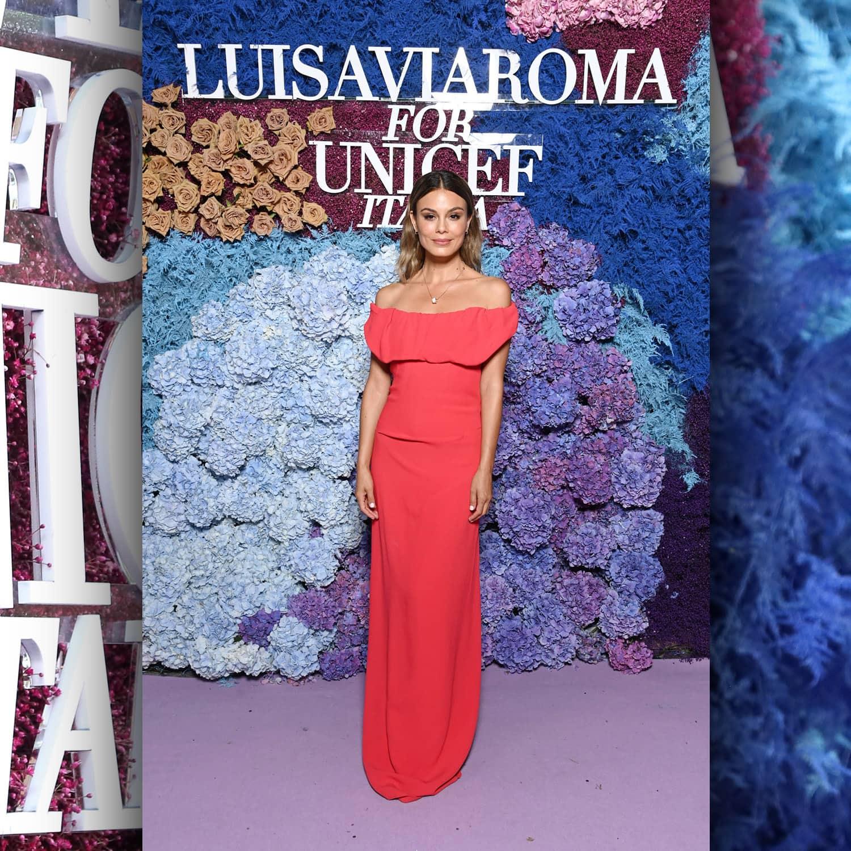 Австралийская актриса Нат Келли в LuisaViaRoma для Unicef, Капри, 31 июля 2021 г., автор: RUNWAY ЖУРНАЛ