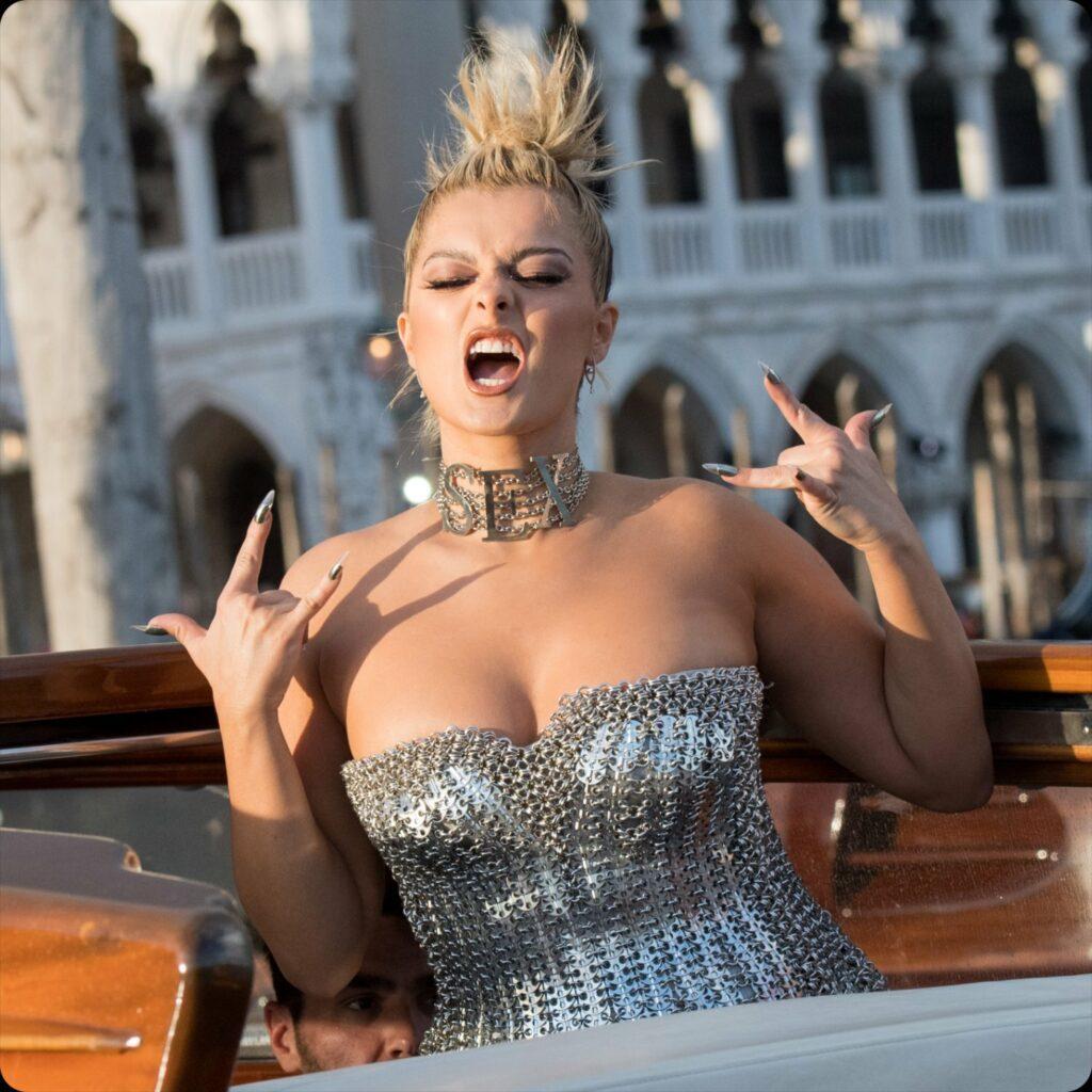 Bebe Rexha - SEX DOLCE GABBANA - Alta Moda Venezia 2021 by RUNWAY MAGAZINE