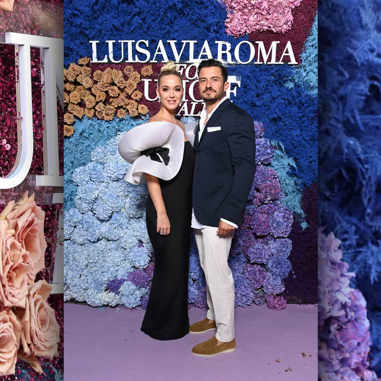 Кэти Перри и Орландо Блум в LuisaViaRoma для Unicef, Капри, 31 июля 2021 г., автор: RUNWAY ЖУРНАЛ