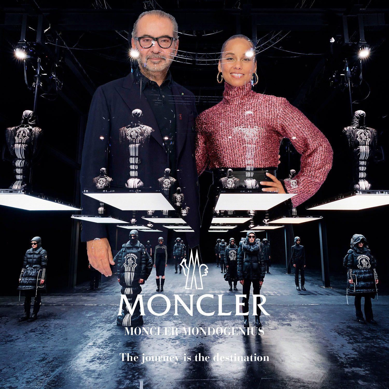 MONCLER MONDOGENIUS - REMO RUFFINI e ALICIA KEYS - Milano Fashion Week 2021 by RUNWAY MAGAZINE