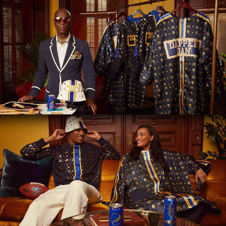 Coleção de cápsulas Pepsi x Dapper Dan por RUNWAY MAGAZINE