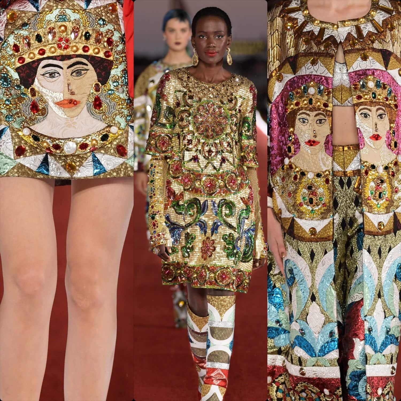 Dolce Gabbana Alta Moda Couture Automne 2021-2022 par RUNWAY MAGAZINE